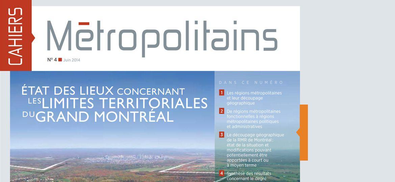 Cahiers métropolitains No4 - juin 2014
