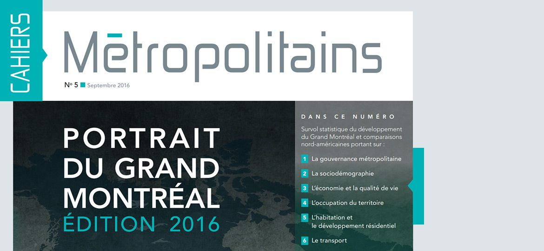 Cahiers métropolitains No5 - septembre 2016