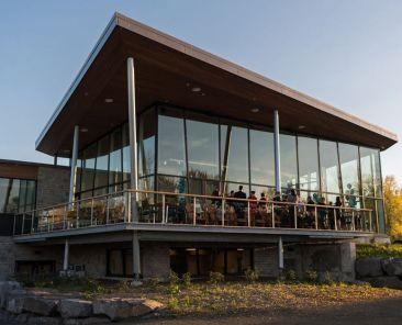 Inauguration du pavillon d'accueil du RécréoParc | Communauté métropolitaine de Montréal (CMM)