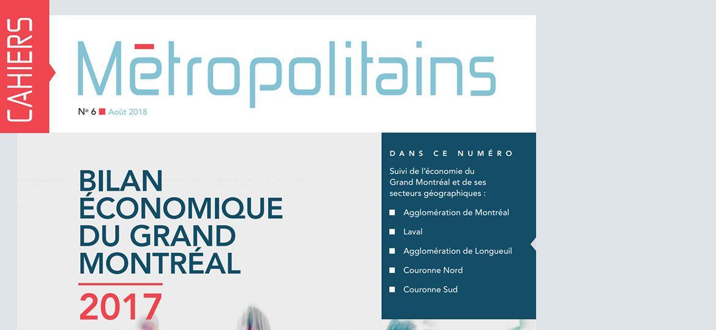 Cahiers métropolitains No6 - août 2018