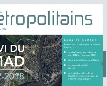Cahiers métropolitains No7 - septembre 2018
