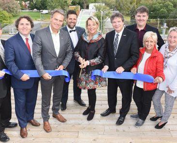 Longueuil, inauguration de la passerelle Normandie | Communauté métropolitaine de Montréal (CMM)