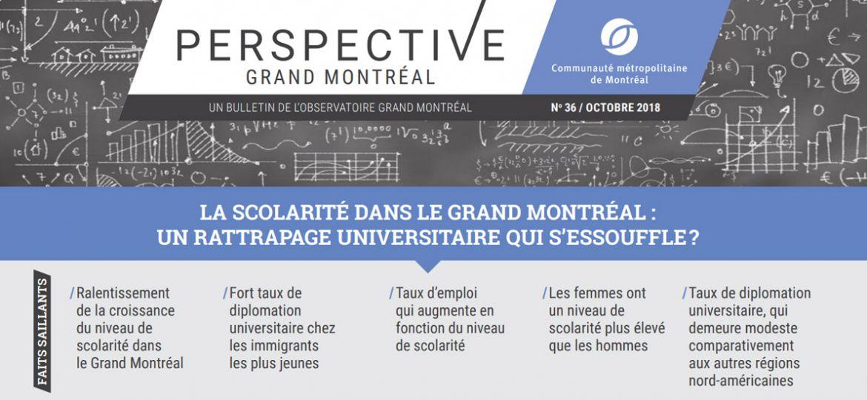 Périodiques - Perspective Grand Montréal No36, octobre 2018