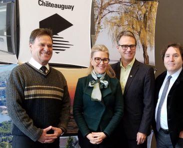 Inauguration du nouvel aménagement au centre écologique Fernand-Seguin de la ville de Châteauguay | Communauté métropolitaine de Montréal (CMM)