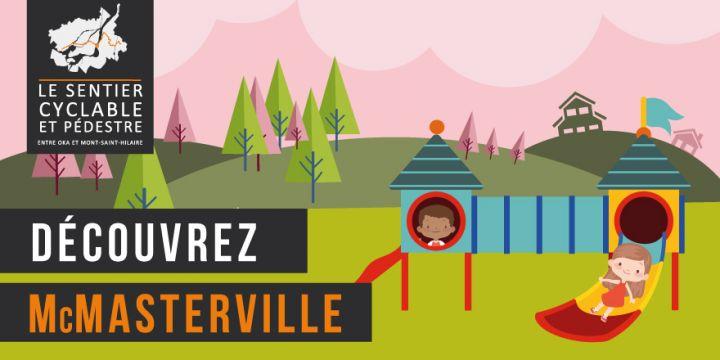 Sentier pédestre et cyclable entre Oka et Mont-Saint-Hilaire - McMasterville