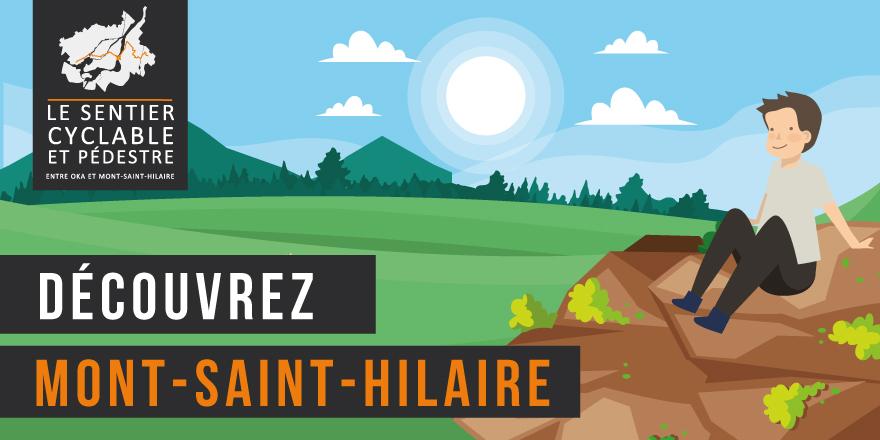 Sentier pédestre et cyclable entre Oka et Mont-Saint-Hilaire - Mont-Saint-Hilaire