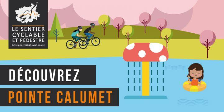 Sentier pédestre et cyclable entre Oka et Mont-Saint-Hilaire - Pointe-Calumet