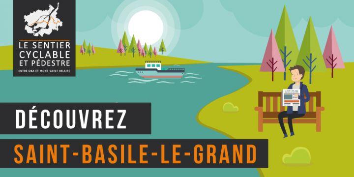 Sentier pédestre et cyclable entre Oka et Mont-Saint-Hilaire - Saint-Basile-Le-Grand