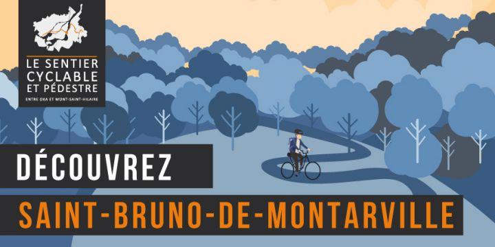 Sentier pédestre et cyclable entre Oka et Mont-Saint-Hilaire - Saint-Bruno-de-Montarville