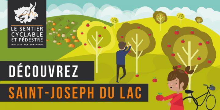 Sentier pédestre et cyclable - Saint-Joseph-du-Lac