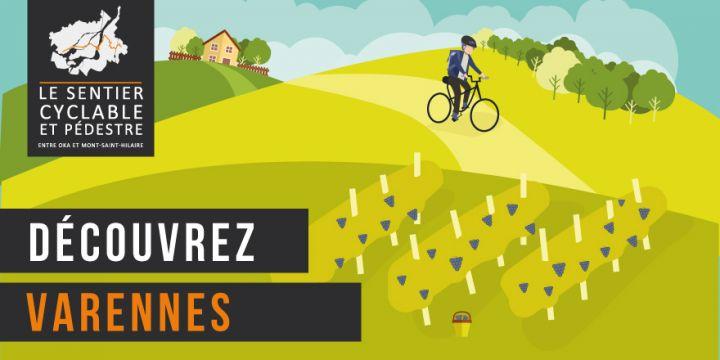 Sentier pédestre et cyclable entre Oka et Mont-Saint-Hilaire - Varennes