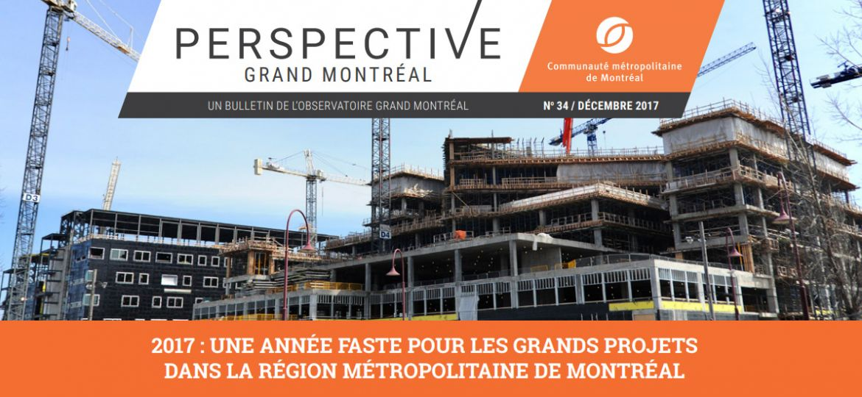 Perspective Grand Montréal No34, décembre 2017