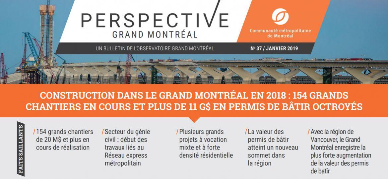 Périodiques - Perspective Grand Montréal No37