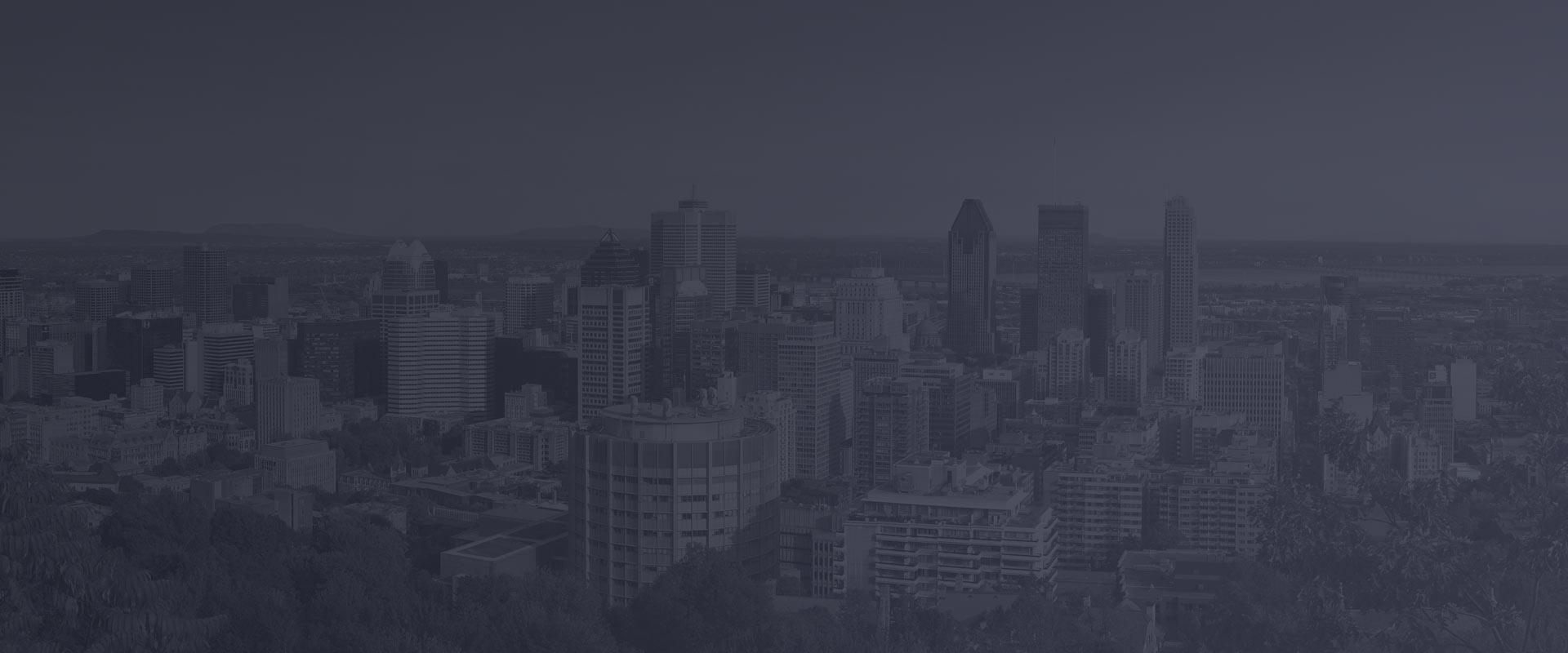 Centre-ville de Montréal - bureaux de la Communauté métropolitaine de Montréal