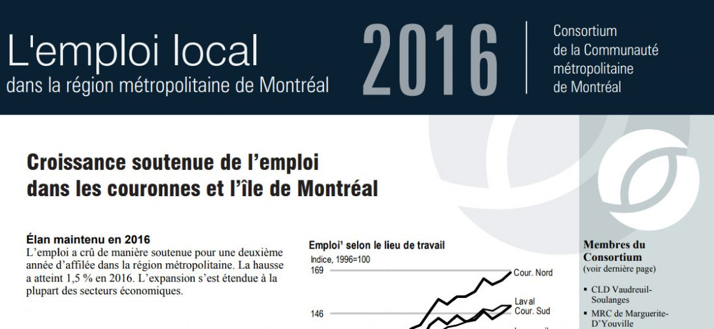 Périodique - Emploi local, édition 2016