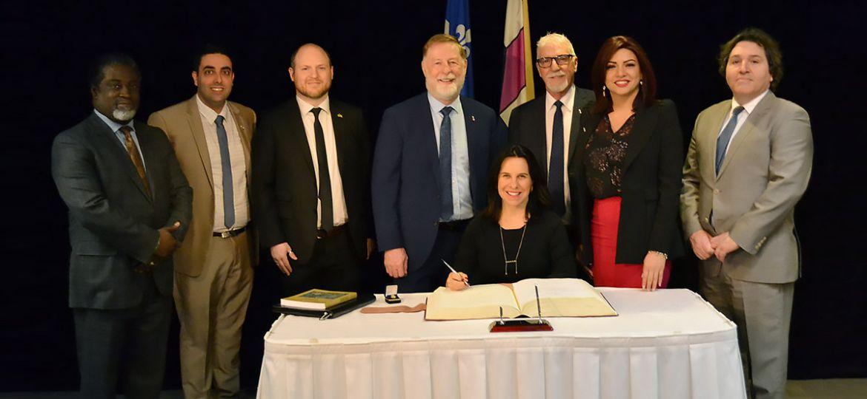 Valérie Plante de passage à Laval   Communauté métropolitaine de Montréal (CMM)