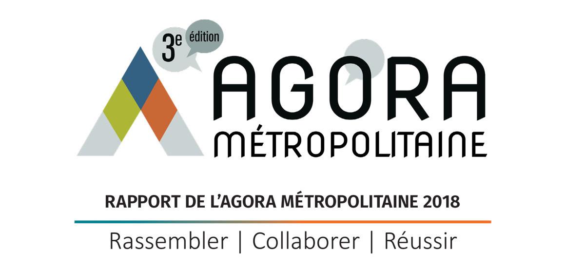 Logo 2018 de l'Agora métropolitaine