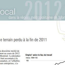 Emploi local - 2012