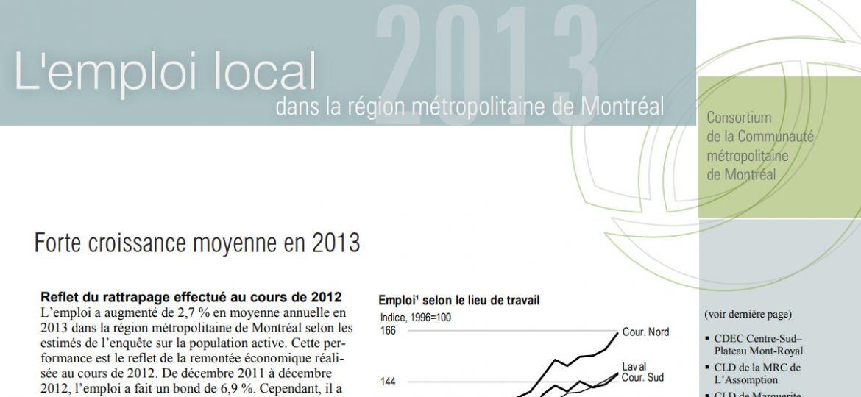 Périodique - Emploi local, édition 2013