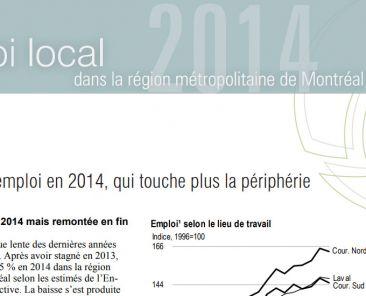 Périodique - Emploi local, édition 2014