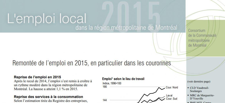 Périodique - Emploi local, édition 2015
