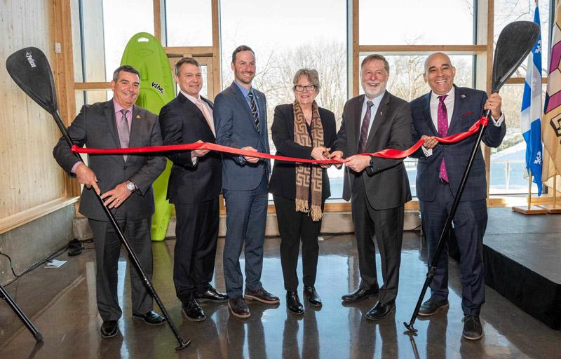 Inauguration du nouveau Centre d'exploration du Parc de la Rivière-des-Mille-Îles
