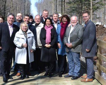 Valérie Plante en visite sur la couronne Nord | Communauté métropolitaine de Montréal (CMM)