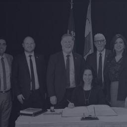 Tournée de la présidente de la CMM : visite fructueuse à Laval sous le thème de la mobilité et de l'environnement