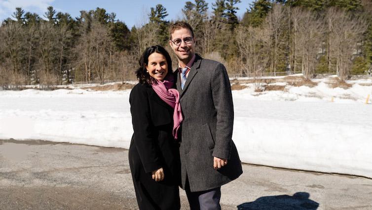 Madame Valérie Plante, mairesse de Montréal et présidente de la CMM et monsieur Guillaume Tremblay, maire de Mascouche