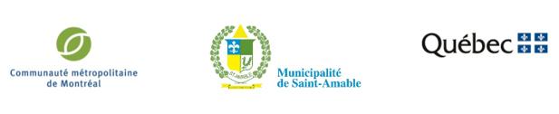 Logos CMM, Saint-Amable et Gouvernement du Québec