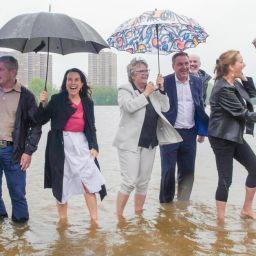Inauguration de la plage urbaine de Verdun