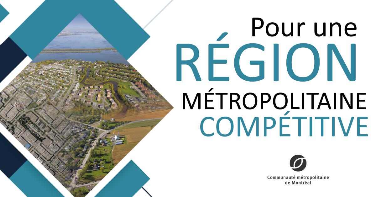 Pour une région métropolitaine compétitive
