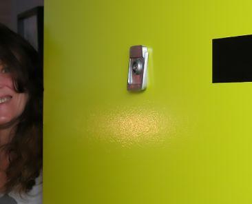Marie-Josée, fière locataire d'un studio dans la Phase II des habitations Le Sac à dos