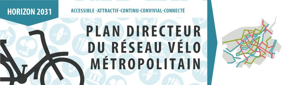 Projet de plan directeur du Réseau vélo métropolitain