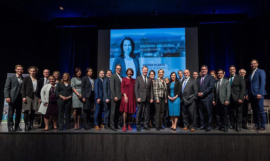 Valérie Plante a présenté les priorités de l'organisme pour les quatre prochaines années