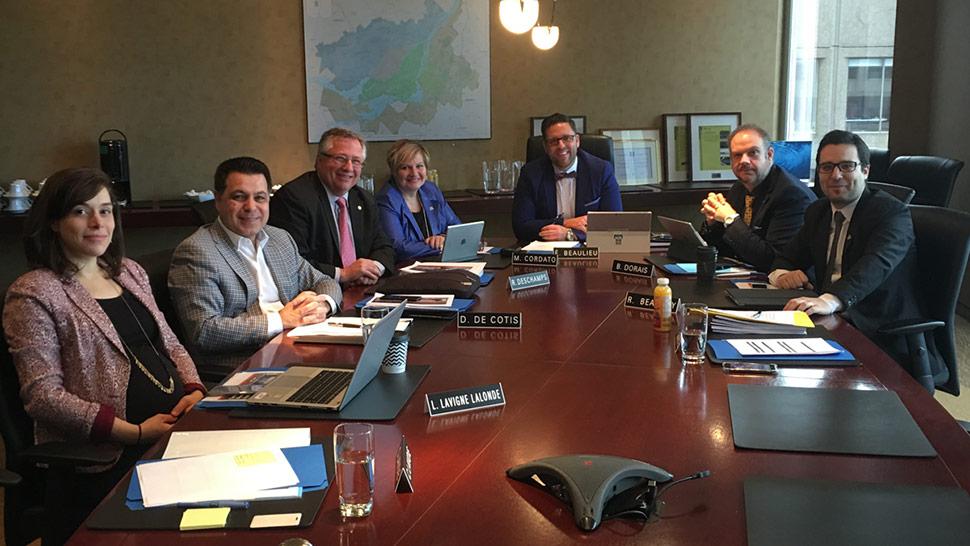 Première rencontre - Commission du développement économique