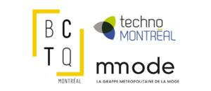 Logos mmode, technomontréal et BCTQ