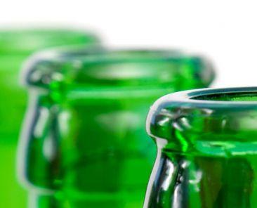 Consigne bouteilles de verre