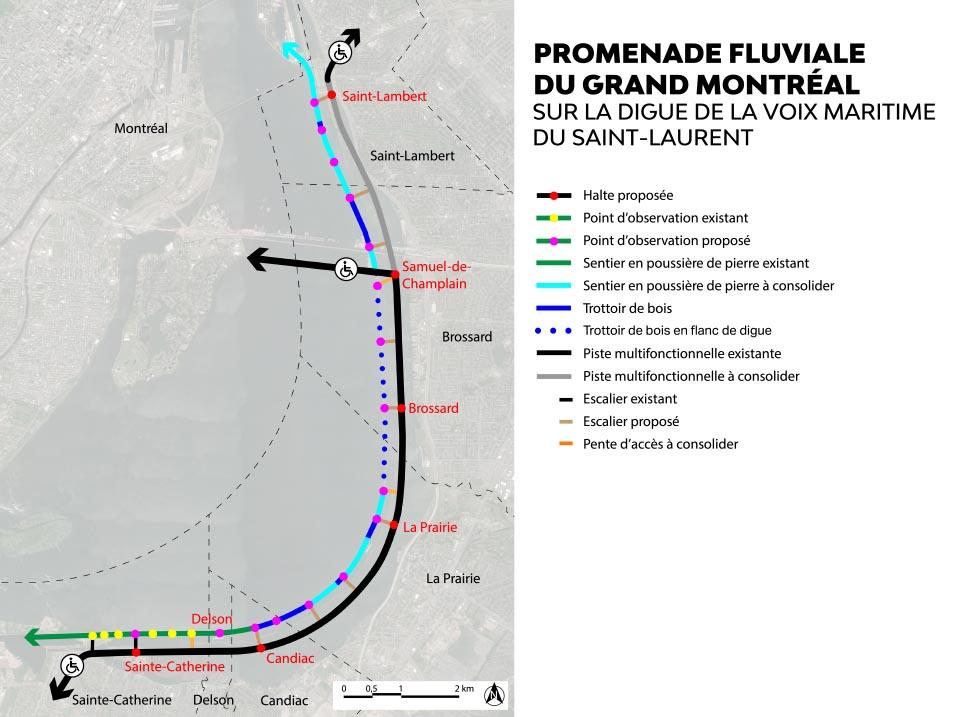 Promenade fluviale image 5 carte