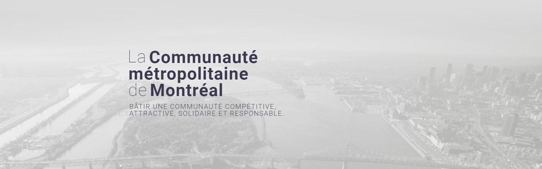 Vue aérienne du Grand Montréal