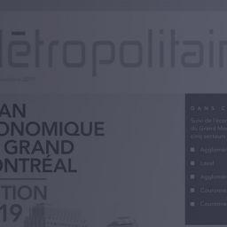 Bilan économique du Grand Montréal – Édition 2019