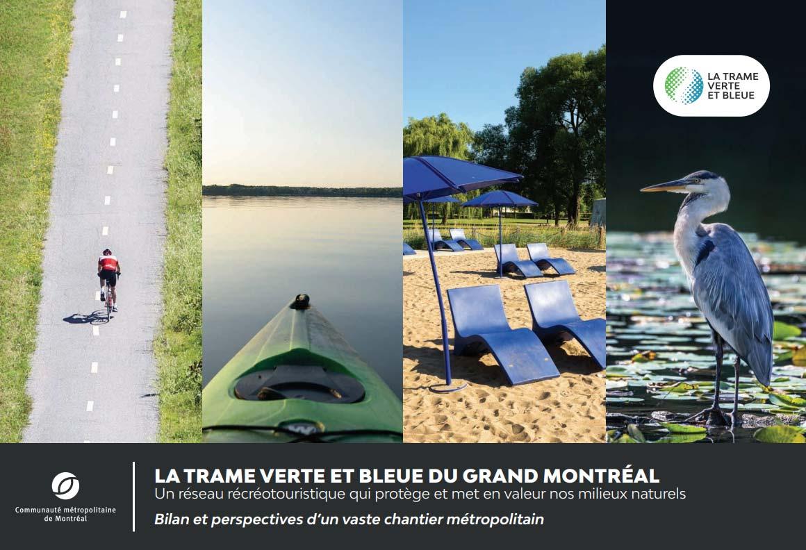 Fascicule Trame verte et bleue du Grand Montréal