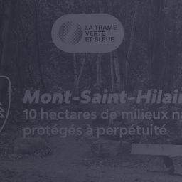 10 hectares de milieux naturels protégés à perpétuité à Mont-Saint-Hilaire