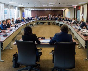 Séance du conseil de la Communauté métropolitaine de Montréal