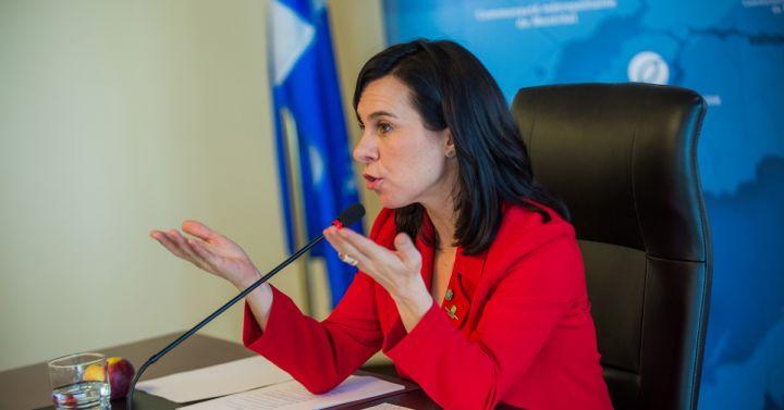 Valérie Plante, présidente de la Communauté métropolitaine de Montréal