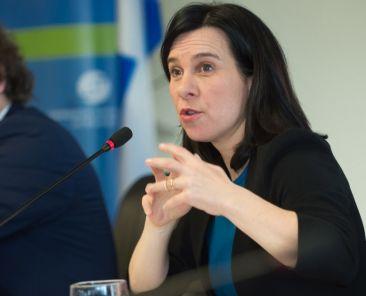 Valérie Plante, séance du conseil de la Communauté métropolitaine de Montréal