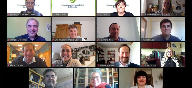 Appel conférence - Séance virtuelle de la commission de l'aménagement