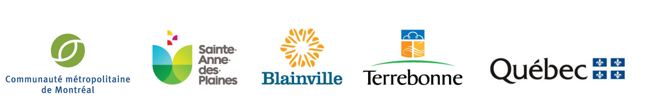 Logos partenaires ouverture piste cyclable