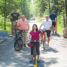 La piste cyclable interrégionale La Seigneurie des Plaines est officiellement ouverte!