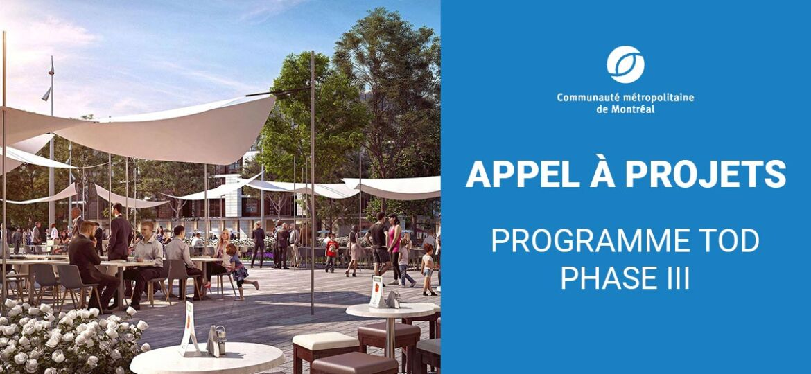 Planification des aires TOD - Appel à projets phase III